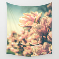 Spring Equinox Wall Tapestry by Olivia Joy StClaire