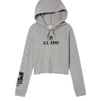 Army Campus Hoodie Tee - PINK - Victoria's Secret