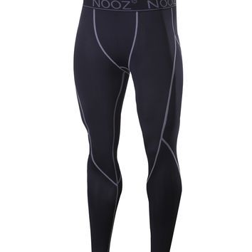 Men's Cool Dry Compression Baselayer Pants Legging Tights