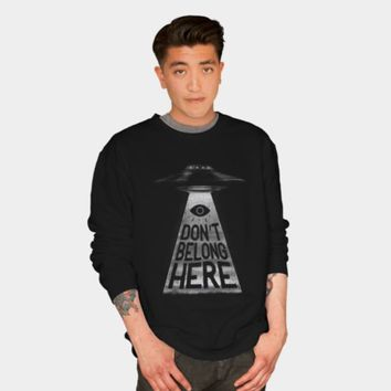 Because I'm A Creep Crewneck By MidnightCoffee Design By Humans