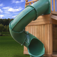 Gorilla Playsets Super Tube Slide for 10 Foot Deck Heights