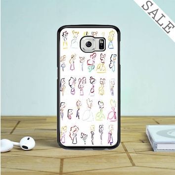 disney heroine Samsung Galaxy S6 Edge Case