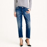 SLIM BROKEN-IN BOYFRIEND JEAN IN MICHEL WASH