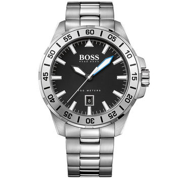 Men's Hugo Boss Deep Ocean Stainless Steel Watch 1513234
