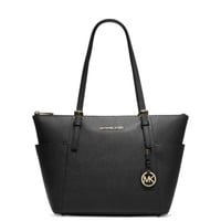 Jet Set Top-Zip Saffiano Leather Tote | Michael Kors