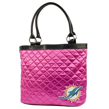 Miami Dolphins NFL Quilted Tote