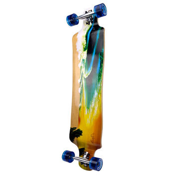 Punked Lowrider Beach Longboard Complete