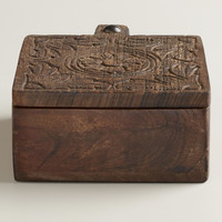 Wooden Spice Box - World Market