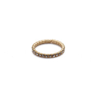 Pave Wrap Ring (Gold)