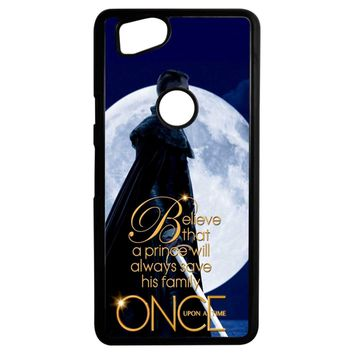 Once Upon A Time Believe A Prince Google Pixel 2 Case