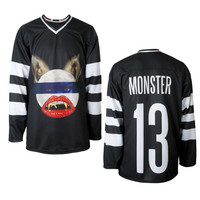 Rihanna Official Store | The Monster Tour Hockey Jersey