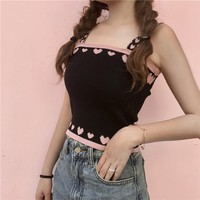 Summer Sexy Vest Topics Cropped feminino Female camis women hot sexy Summer Woman topics Blusa clothes HTC8848