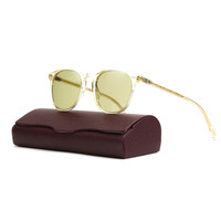 Oliver Peoples OV5257S Sir Finley Sunglasses 1094/4C Buff, Green Photochromic 49