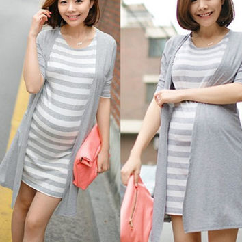 sexy women summer one-piece dress maternity dress for pregnant women casual dress = 1946165636