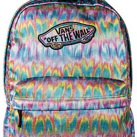 The Realm Backpack in True White Rainbow