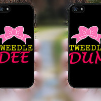 iphone 5s case,iphone 5 case,iphone 5c case,iphone 5s cases,iphone 5 cases,iphone 5c cover,cute iphone 5s case--Tweedle DEE Tweedle DUM.