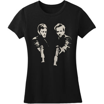 Boondock Saints  Brother Girls Jr Black Rockabilia