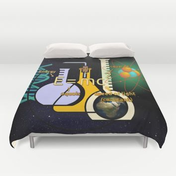 science Duvet Cover by abeerhassan
