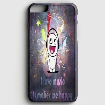 Cute I Love Music iPhone 6/6S Case