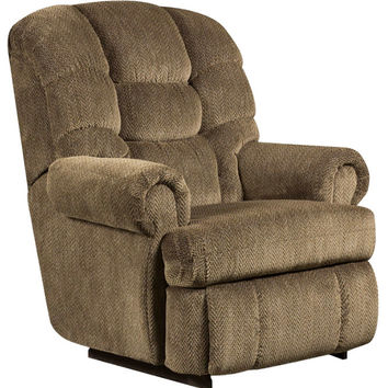 Big and Tall 350 lb. Capacity Gazette Basil Microfiber Recliner