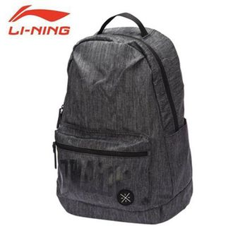 ONETOW Li-Ning Men Basketball Wade Series Backpack Training Polyester Bags Li Ning Sports Backpack ABSM111