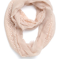 With Love From CA Lace Woven Infinity Scarf at PacSun.com