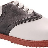 Willits Women's Honor Roll II Saddle Shoes,White/Black w/Red Sole,8 W