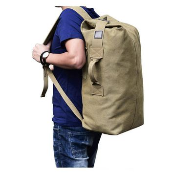 Multi-Purpose Military Canvas Backpack Tactical Rucksack