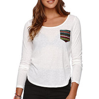 Nollie Ethnic Pocket Top at PacSun.com