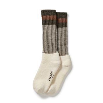 1970's Logger Thermal Sock