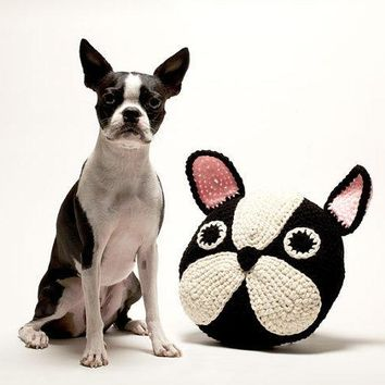 French Bulldog/boston Terrier Pillow