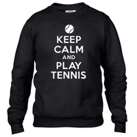 Keep calm and play tennis Crewneck sweatshirt