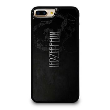 LED ZEPPELIN LYRIC iPhone 4/4S 5/5S/SE 5C 6/6S 7 8 Plus X Case