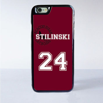 Teen Wolf Inspired Stiles Stilinski Jersey Beacon Hills Lacrosse Alpha Custom iPhone 6 Case