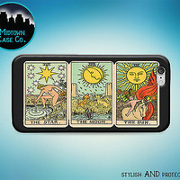 Tarot Cards Sun Moon Stars Fortune Case for iPhone 7 6s 6 Plus 5s 5 5c SE iPod