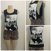 hustle gang marilyn monroe tank