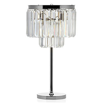Crystal Table Lamp   Luxe Lighting Collection   Z Gallerie