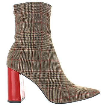 Jeffrey Campbell Siren - Brown Plaid Boot