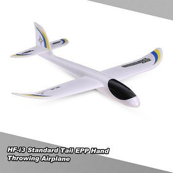 HF-i3 Outdoor Aircraft Standard Tail EPP Hand Throwing Glider Airplane 480mm Wingspan