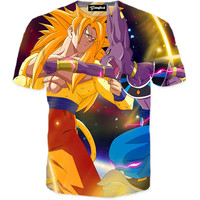 Dragon Ball Z Battle of Gods Tee