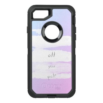 painted stripes modern add your quote case