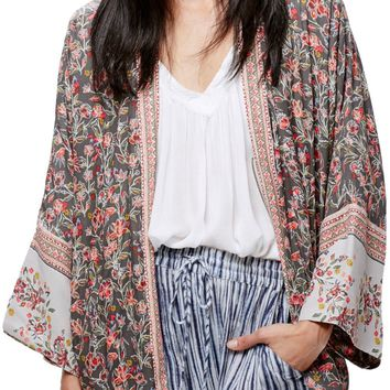 Free People Wildflower Kimono Jacket | Nordstrom