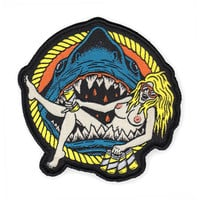 Shark Babe Patch