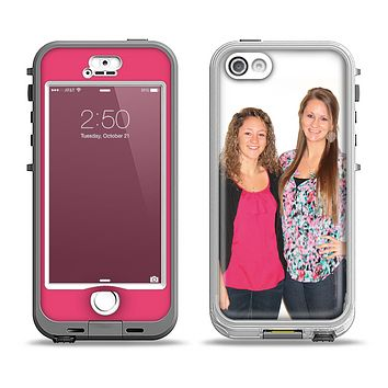 The Add Your Own Image Apple iPhone 5-5s LifeProof Nuud Case Skin Set