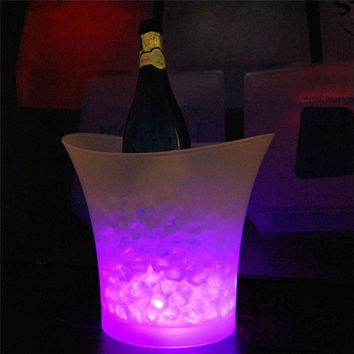 Party Pail Ice Bucket with LED Lights