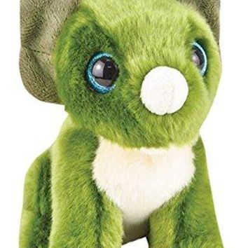 "Wildlife Tree 7"" Stuffed Triceratops Plush Floppy Dinosaur Animal Heirloom Collection"