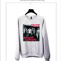 One Direction, Midnight Memories Sweater ready for Black, Red and Gray Color