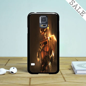 Wall-E Brown Sketch Samsung Galaxy S5 Case