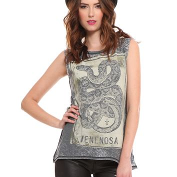 Venenosa Muscle Tank - Tops - Clothes | GYPSY WARRIOR