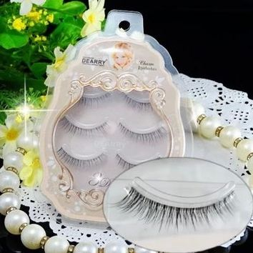Fastest Shipping mink eyelash makeup 3D false eyelash extension 3D eye lash brand false eyelash